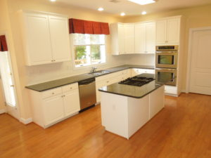 The location of this kitchen determines it's cost.
